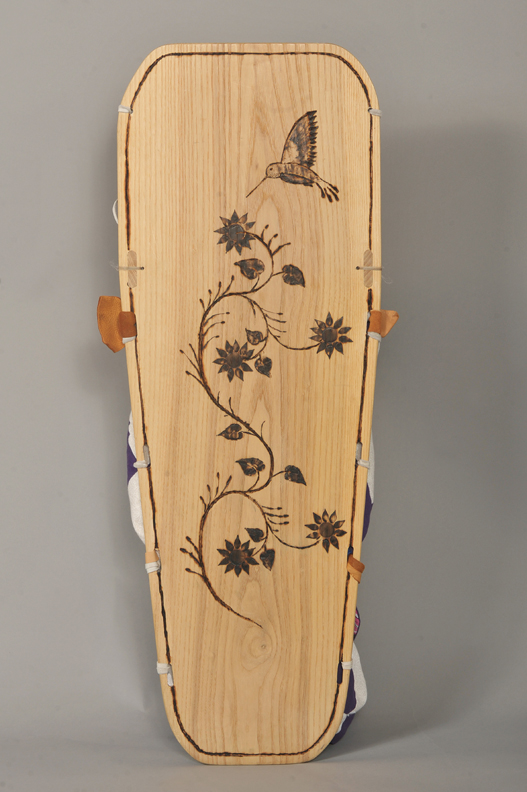 Mohawk Cradle Board - back