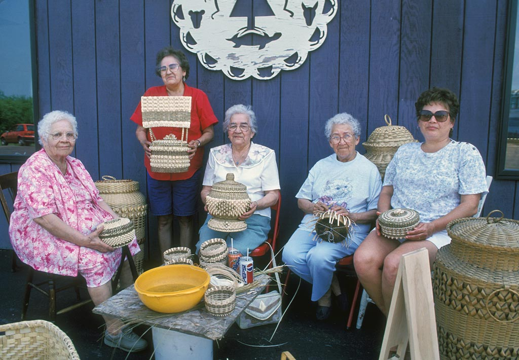Akwesasne Basket Makers